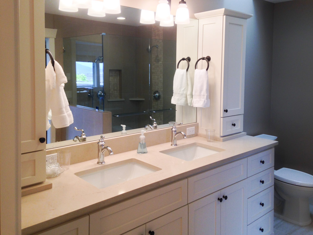 bathrooms new creations building anacortes custom homes